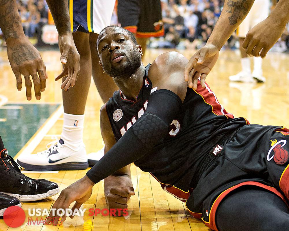 NBA: Miami Heat at Utah Jazz