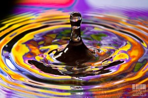 """""""Water Drop"""" By: Micheal Lee Mitchell"""
