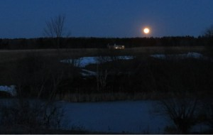 """""""February Snow Moon"""" By: Marc P. Mailhot"""