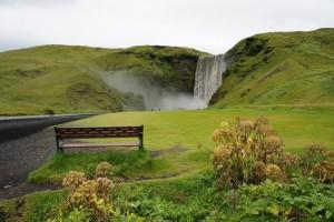"""Skogafoss Waterfall in Iceland"" By: Maria Feht"
