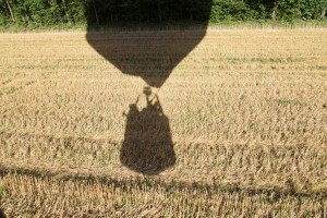 """Hot air Balloon Basket Silhouette"" By: M Diamant"