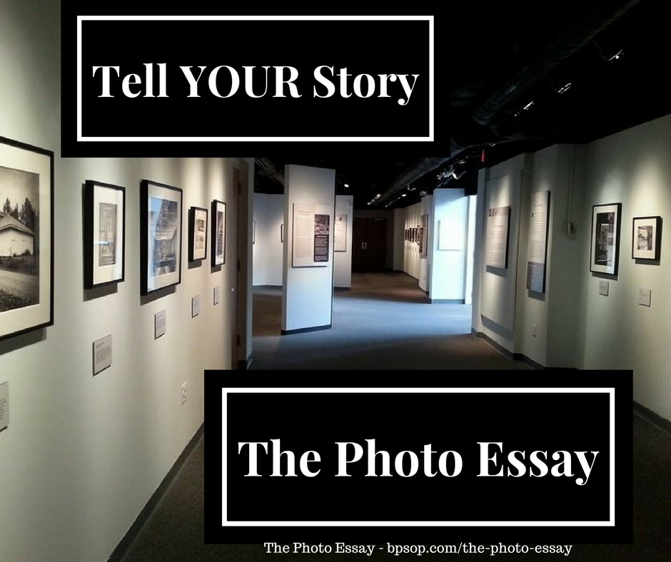 create online photo essay Very few photo essays can be effective without some words wilson hicks, the life magazine editor who probably did more to create the photo essay than anyone else, wrote that the basic unit of photojournalism is one picture with words.