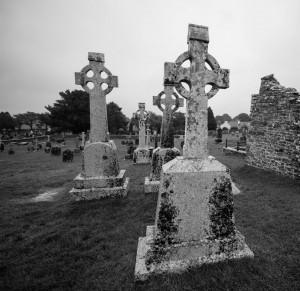 """Clanmacnoise Graveyard Ireland"" By: fitzpami2"