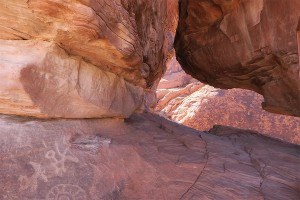 """Beautiful Rock Formation & 4000 yr old Drawings"" By: Marge Pangione"