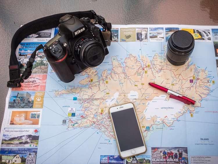 Map Camera Lens!